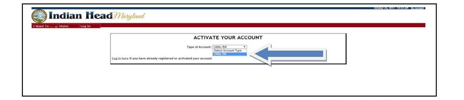 Online Bill Pay - Town of Indian Head